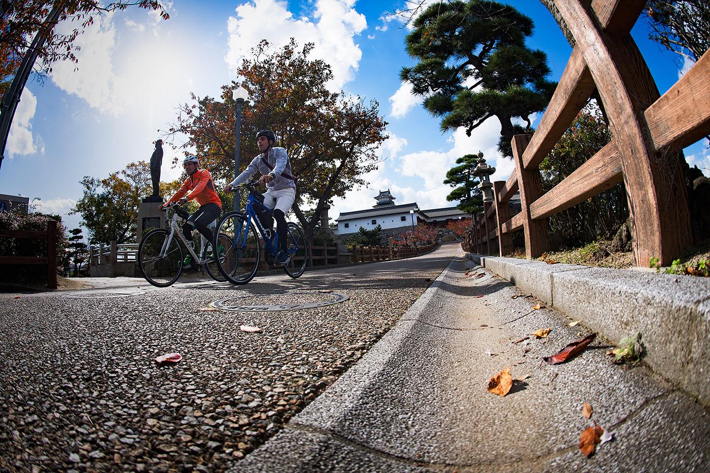 松山・道後温泉旅をもっと楽しく。知っておくべき自転車のキホン