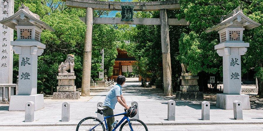 【Point 10.1km】Oyamazumi Shrine