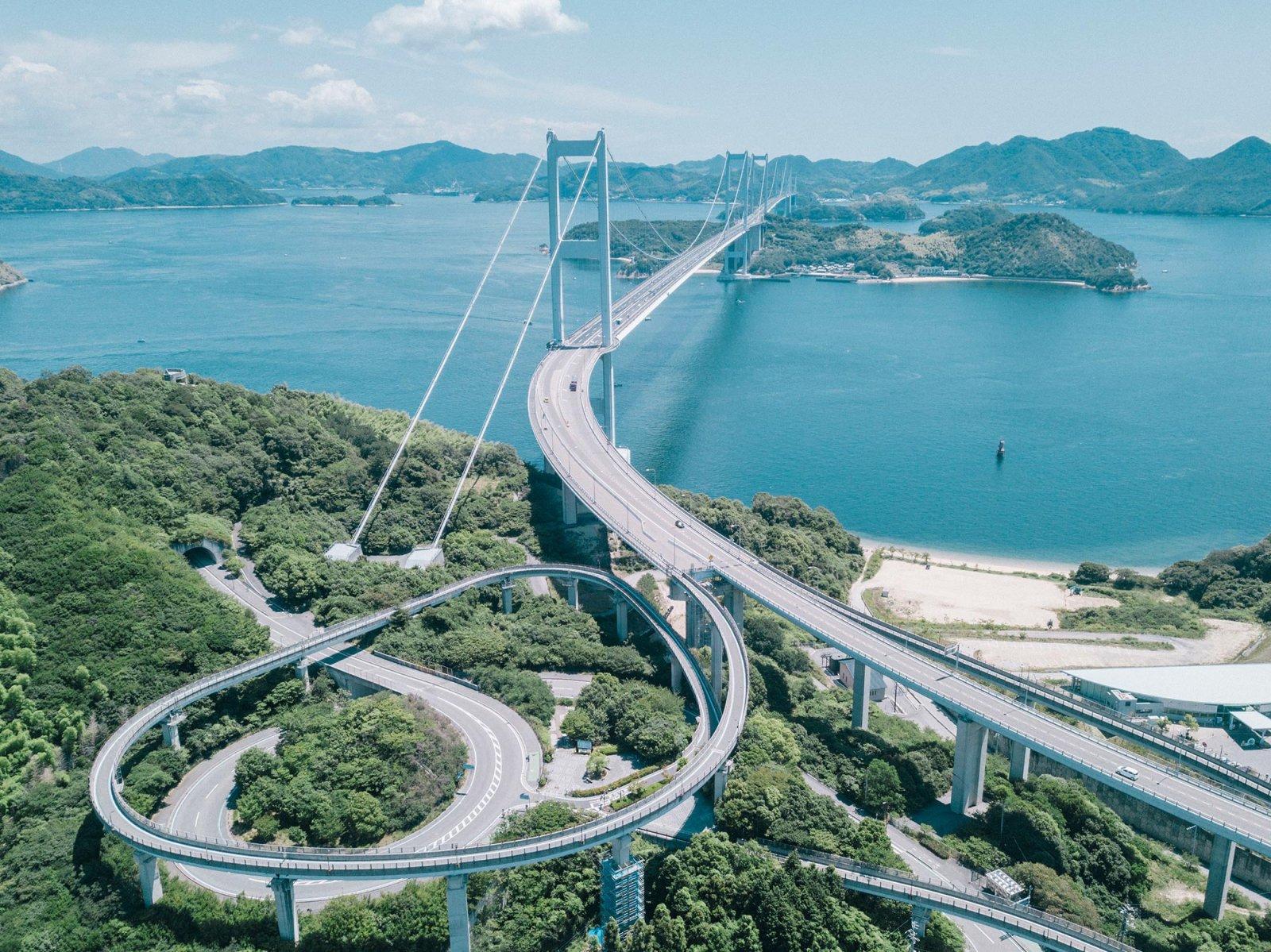 Shimanami Kaido - Oshima and Hakata Island Loop -