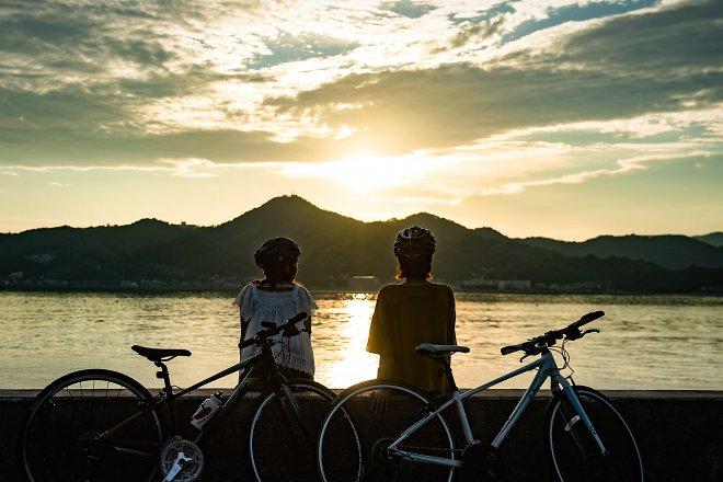 Cycling on the Shimanami Kaido