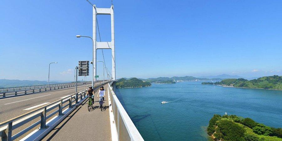【スタート地点】来島海峡大橋