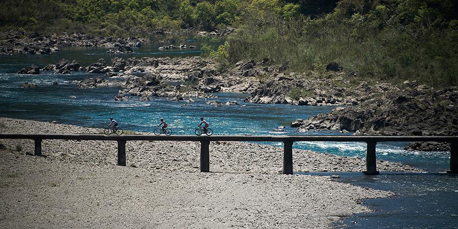【Point30.5km】Hage Low-Water Bridge