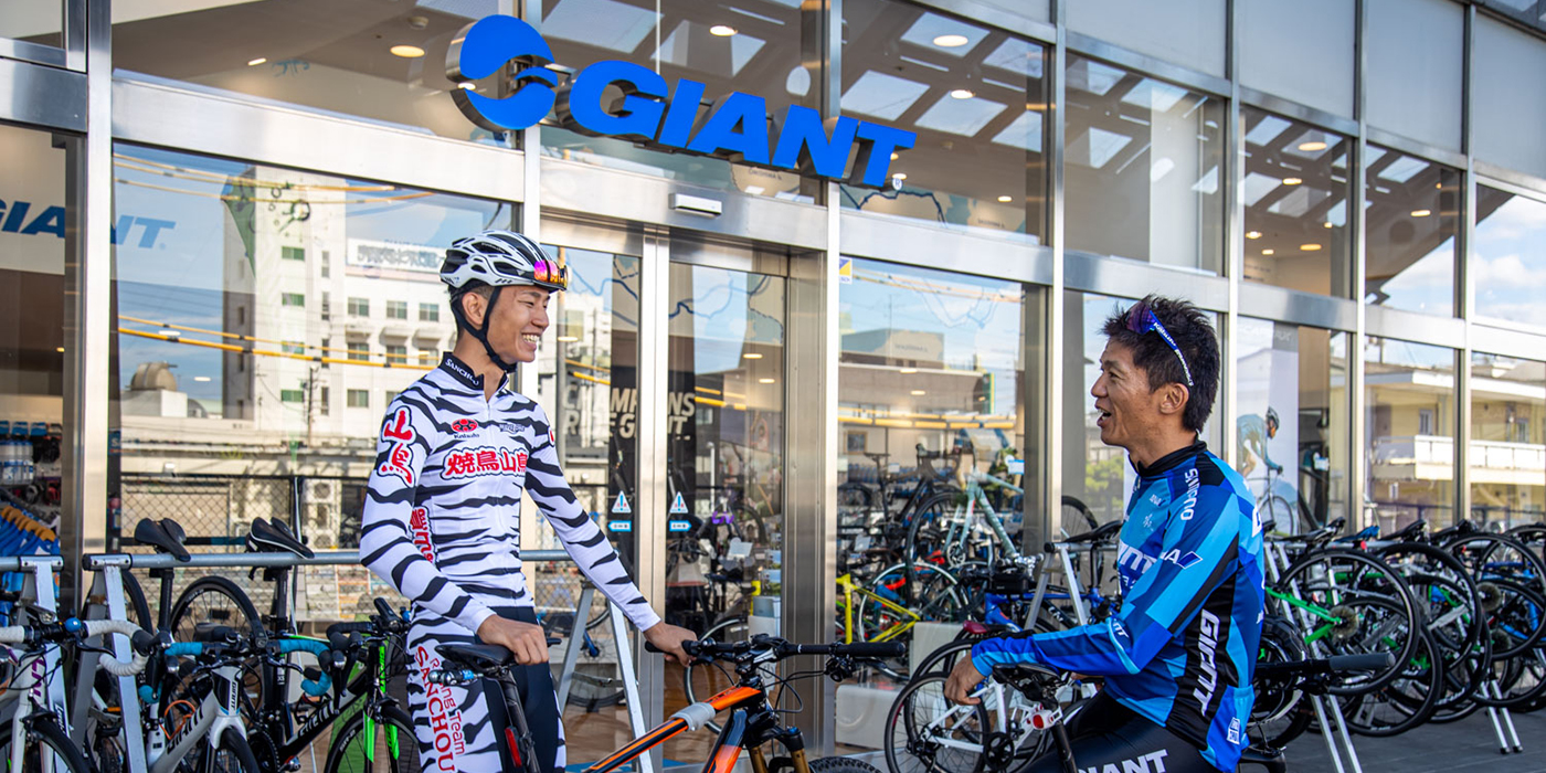 Cycling spots in Ehime recommended by pro riders Motoshi Kadota and Yasuaki Nishiyama