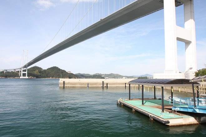 The Kurushima-Kaikyo Bridge
