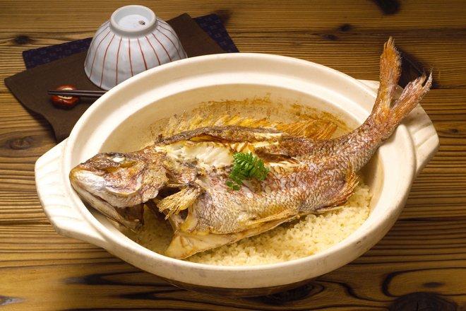 炊飯風鯛魚飯